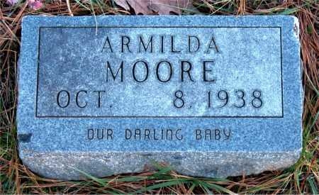 MOORE, ARMILDA - Carroll County, Arkansas | ARMILDA MOORE - Arkansas Gravestone Photos