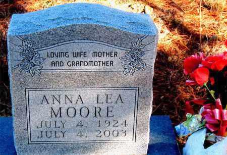 MOORE, ANNA LEA - Carroll County, Arkansas | ANNA LEA MOORE - Arkansas Gravestone Photos