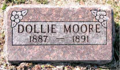 MOORE, DOLLIE - Carroll County, Arkansas | DOLLIE MOORE - Arkansas Gravestone Photos