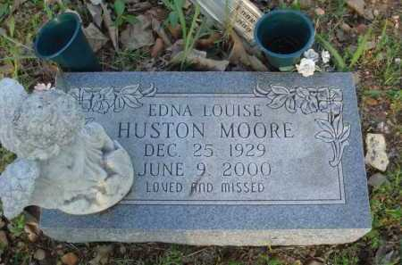 MOORE, EDNA LOUISE - Carroll County, Arkansas | EDNA LOUISE MOORE - Arkansas Gravestone Photos
