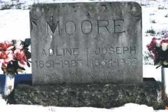 MOORE, ADLINE MILLIE - Carroll County, Arkansas | ADLINE MILLIE MOORE - Arkansas Gravestone Photos