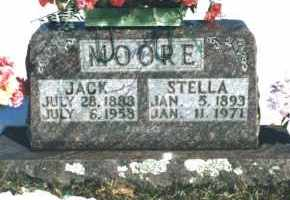 MOORE, STELLA - Carroll County, Arkansas | STELLA MOORE - Arkansas Gravestone Photos
