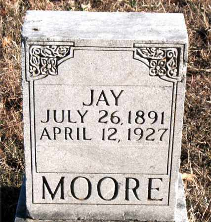 MOORE, JAY - Carroll County, Arkansas | JAY MOORE - Arkansas Gravestone Photos