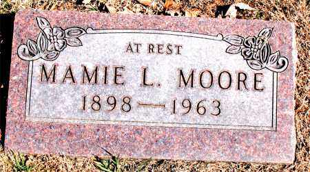 MOORE, MAMIE  L. - Carroll County, Arkansas | MAMIE  L. MOORE - Arkansas Gravestone Photos