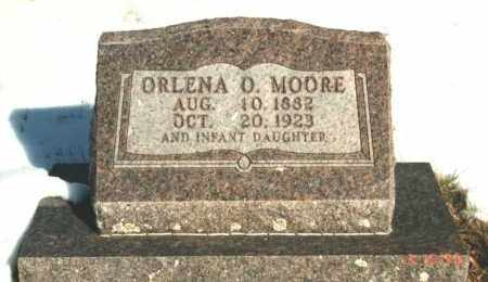 MOORE, ORLENA M - Carroll County, Arkansas | ORLENA M MOORE - Arkansas Gravestone Photos