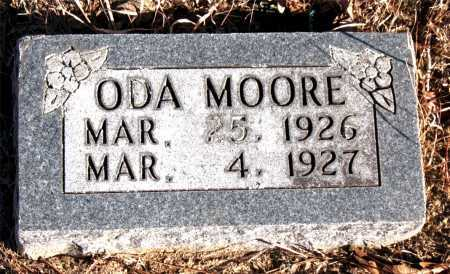 MOORE, ODA - Carroll County, Arkansas | ODA MOORE - Arkansas Gravestone Photos