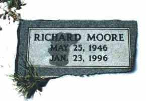MOORE, RICHARD - Carroll County, Arkansas | RICHARD MOORE - Arkansas Gravestone Photos