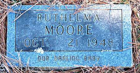 MOORE, RUTHELMA - Carroll County, Arkansas | RUTHELMA MOORE - Arkansas Gravestone Photos