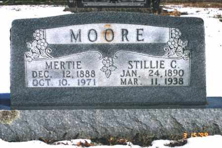 MOORE, MERTIE - Carroll County, Arkansas | MERTIE MOORE - Arkansas Gravestone Photos
