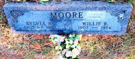 MOORE, WILLIE B. - Carroll County, Arkansas | WILLIE B. MOORE - Arkansas Gravestone Photos