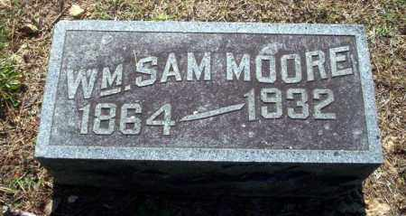MOORE, WILLIAM SAM - Carroll County, Arkansas | WILLIAM SAM MOORE - Arkansas Gravestone Photos