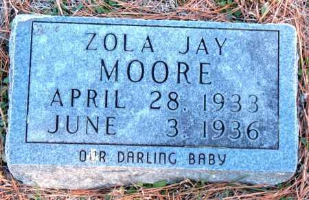 MOORE, ZOLA JAY - Carroll County, Arkansas | ZOLA JAY MOORE - Arkansas Gravestone Photos