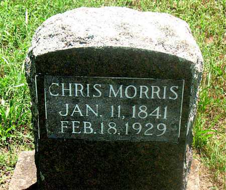 MORRIS, CHRIS - Carroll County, Arkansas | CHRIS MORRIS - Arkansas Gravestone Photos