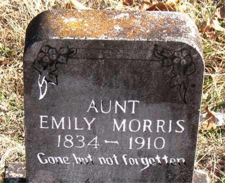 MORRIS, EMILY - Carroll County, Arkansas | EMILY MORRIS - Arkansas Gravestone Photos