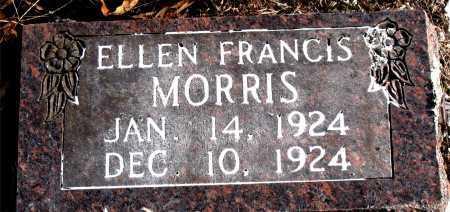 MORRIS, ELLEN FRANCIS - Carroll County, Arkansas | ELLEN FRANCIS MORRIS - Arkansas Gravestone Photos
