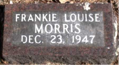 MORRIS, FRANKIE LOUISE - Carroll County, Arkansas | FRANKIE LOUISE MORRIS - Arkansas Gravestone Photos