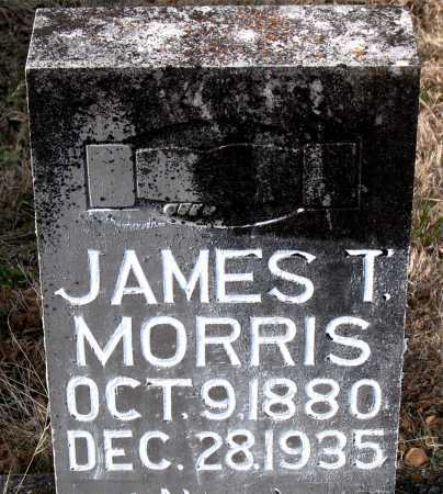 MORRIS, JAMES T. - Carroll County, Arkansas | JAMES T. MORRIS - Arkansas Gravestone Photos