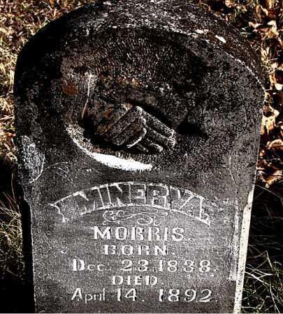 MORRIS, MINERVA - Carroll County, Arkansas | MINERVA MORRIS - Arkansas Gravestone Photos