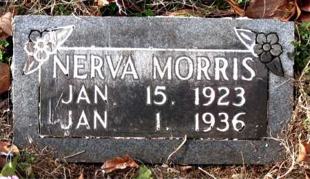 MORRIS, NERVA - Carroll County, Arkansas | NERVA MORRIS - Arkansas Gravestone Photos