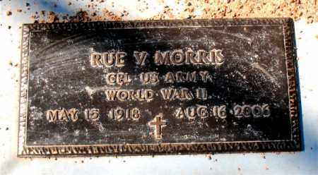 MORRIS  (VETERAN WWI), RUE V. - Carroll County, Arkansas | RUE V. MORRIS  (VETERAN WWI) - Arkansas Gravestone Photos