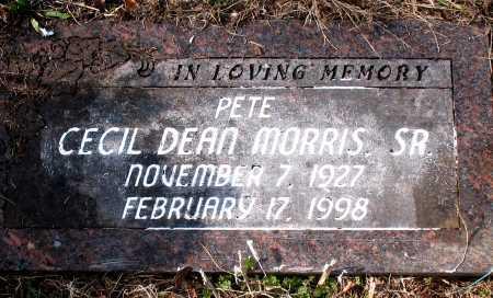 MORRIS SR., CECIL DEAN - Carroll County, Arkansas | CECIL DEAN MORRIS SR. - Arkansas Gravestone Photos