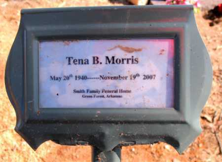 MORRIS, TENA B. - Carroll County, Arkansas | TENA B. MORRIS - Arkansas Gravestone Photos