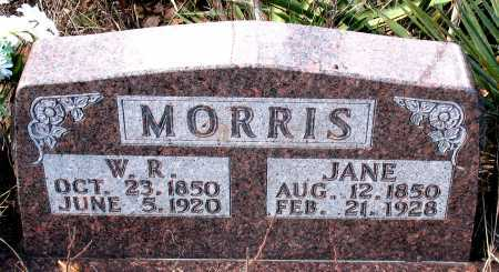 MORRIS, JANE - Carroll County, Arkansas | JANE MORRIS - Arkansas Gravestone Photos
