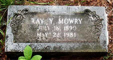 MOWRY, RAY YEAGER - Carroll County, Arkansas | RAY YEAGER MOWRY - Arkansas Gravestone Photos