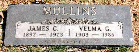 MULLINS, VELMA G. - Carroll County, Arkansas | VELMA G. MULLINS - Arkansas Gravestone Photos