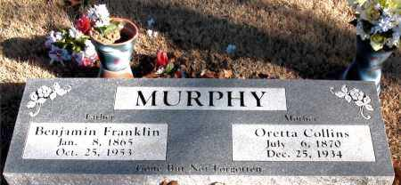 MURPHY, BENJAMIN FRANKLIN - Carroll County, Arkansas | BENJAMIN FRANKLIN MURPHY - Arkansas Gravestone Photos