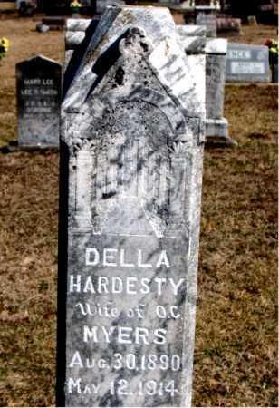 HARDESTY MYERS, DELLA - Carroll County, Arkansas | DELLA HARDESTY MYERS - Arkansas Gravestone Photos