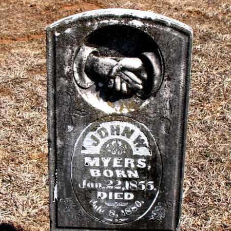 MYERS, JOHN W. - Carroll County, Arkansas   JOHN W. MYERS - Arkansas Gravestone Photos