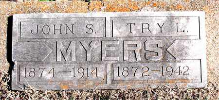 MYERS, TRY  L - Carroll County, Arkansas | TRY  L MYERS - Arkansas Gravestone Photos