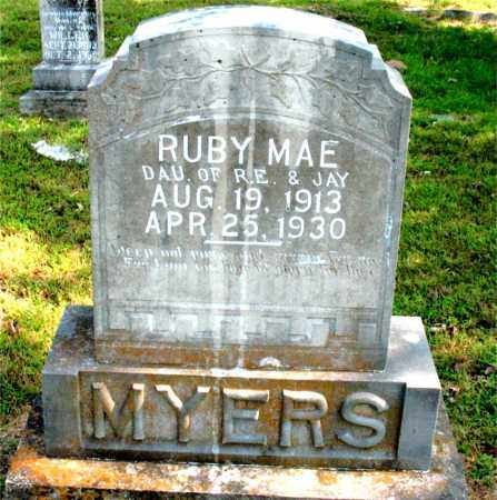 MYERS, RUBY MAE - Carroll County, Arkansas | RUBY MAE MYERS - Arkansas Gravestone Photos