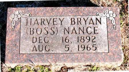 NANCE, HARVEY  BRYAN    (BOSS) - Carroll County, Arkansas | HARVEY  BRYAN    (BOSS) NANCE - Arkansas Gravestone Photos