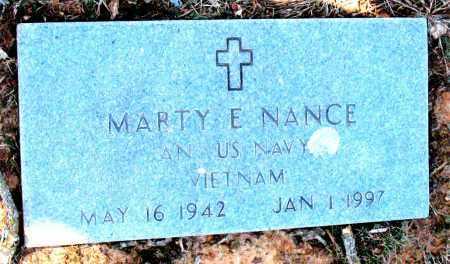 NANCE (VETERAN VIET), MARTY E - Carroll County, Arkansas | MARTY E NANCE (VETERAN VIET) - Arkansas Gravestone Photos