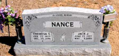NANCE, JACK  J. - Carroll County, Arkansas | JACK  J. NANCE - Arkansas Gravestone Photos