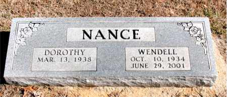 NANCE, WENDELL - Carroll County, Arkansas | WENDELL NANCE - Arkansas Gravestone Photos