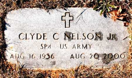 NELSON JR.  (VETERAN), CLYDE C. - Carroll County, Arkansas | CLYDE C. NELSON JR.  (VETERAN) - Arkansas Gravestone Photos