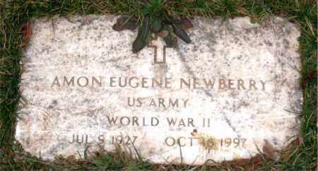 NEWBERRY (VETERAN WWII), AMON EUGENE - Carroll County, Arkansas | AMON EUGENE NEWBERRY (VETERAN WWII) - Arkansas Gravestone Photos