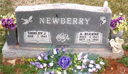 NEWBERRY, A.EUGENE - Carroll County, Arkansas | A.EUGENE NEWBERRY - Arkansas Gravestone Photos