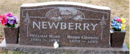 GRIFFITH NEWBERRY, BESSIE - Carroll County, Arkansas | BESSIE GRIFFITH NEWBERRY - Arkansas Gravestone Photos