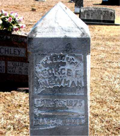 NEWMAN, GEORGE - Carroll County, Arkansas | GEORGE NEWMAN - Arkansas Gravestone Photos