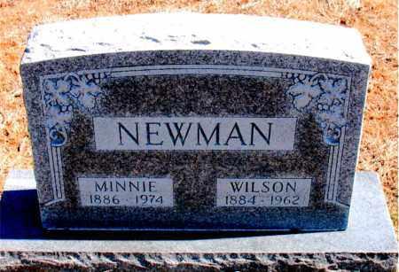 NEWMAN, MINNIE - Carroll County, Arkansas | MINNIE NEWMAN - Arkansas Gravestone Photos