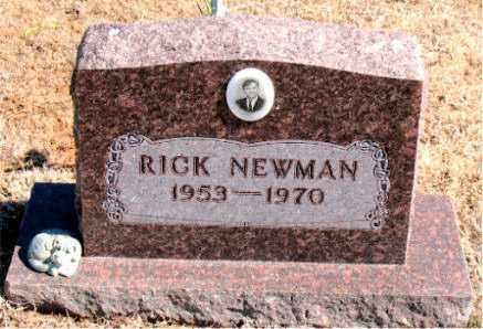 NEWMAN, RICK - Carroll County, Arkansas | RICK NEWMAN - Arkansas Gravestone Photos