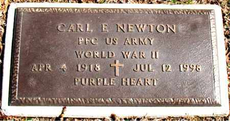 NEWTON (VETERAN WWII), CARL E - Carroll County, Arkansas | CARL E NEWTON (VETERAN WWII) - Arkansas Gravestone Photos