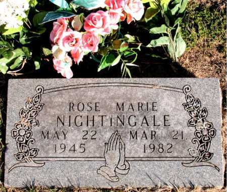 NIGHTINGALE, ROSE MARIE - Carroll County, Arkansas | ROSE MARIE NIGHTINGALE - Arkansas Gravestone Photos