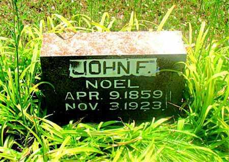 NOEL, JOHN F - Carroll County, Arkansas | JOHN F NOEL - Arkansas Gravestone Photos