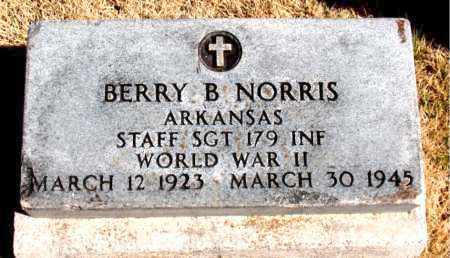 NORRIS  (VETERAN WWII), BERRY B - Carroll County, Arkansas | BERRY B NORRIS  (VETERAN WWII) - Arkansas Gravestone Photos