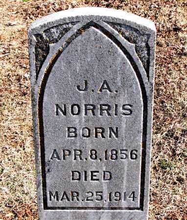 NORRIS, J A - Carroll County, Arkansas | J A NORRIS - Arkansas Gravestone Photos